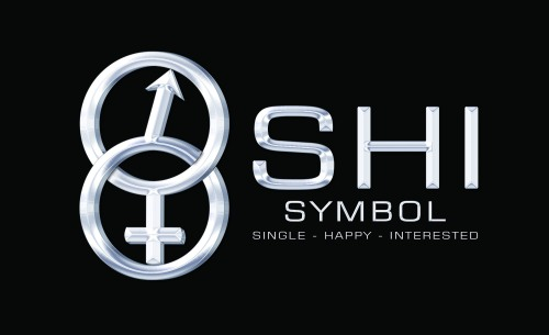 SHI Symbol Logo - for Singles around the world to meet their match