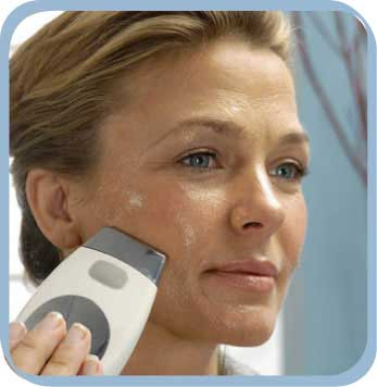 Using a Galvanic Spa to iron our your wrinkles - in 10 minutes