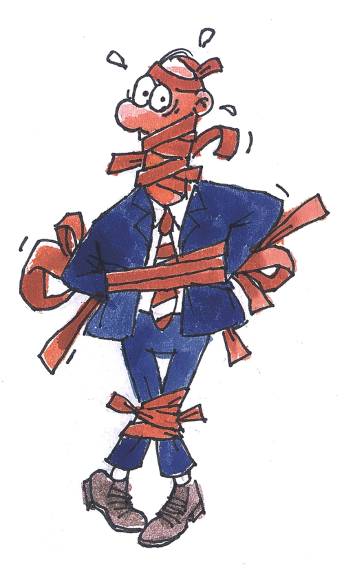 Caught up in Government red tape - the all too familiar story
