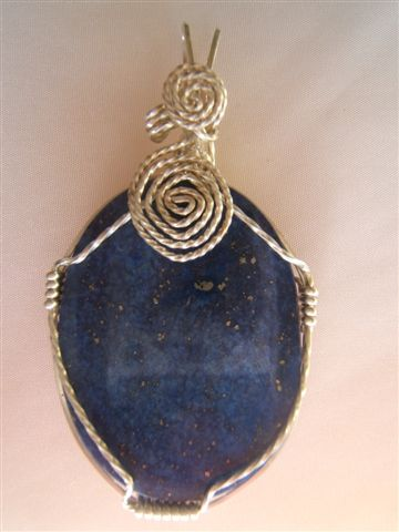 SHI Symbol and Rocks Revealed Lapis Lazuli Pendant Giveaway Competition - FREE Entry