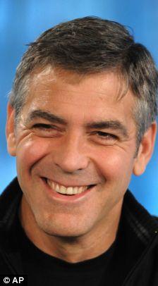 George Clooney - and definitely my pick!