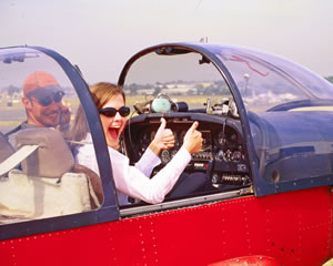 flying lessons - another fun date idea