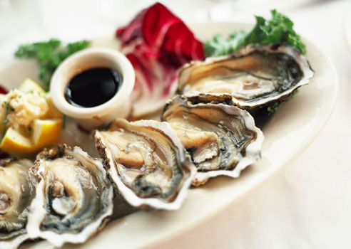 Set the mood - aphrodisiacs-oysters