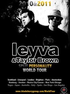 chris levya taylor brown world tour
